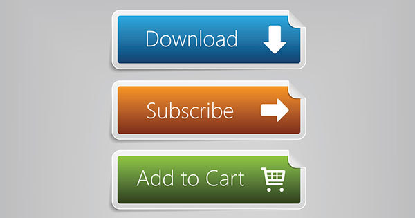 Download, Subscribe, Add to Cart website buttons